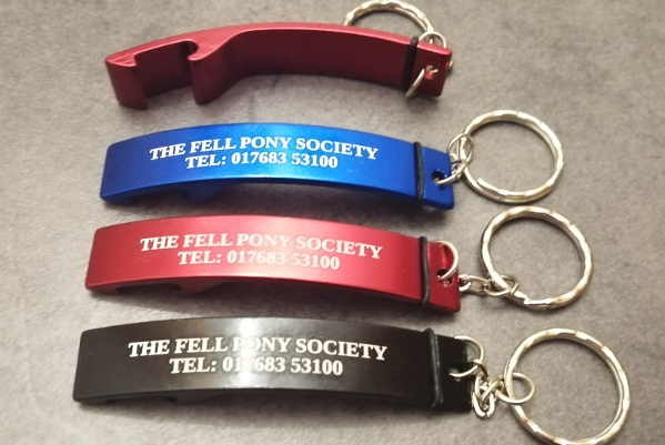 keyrings with bottle openers in assorted colours