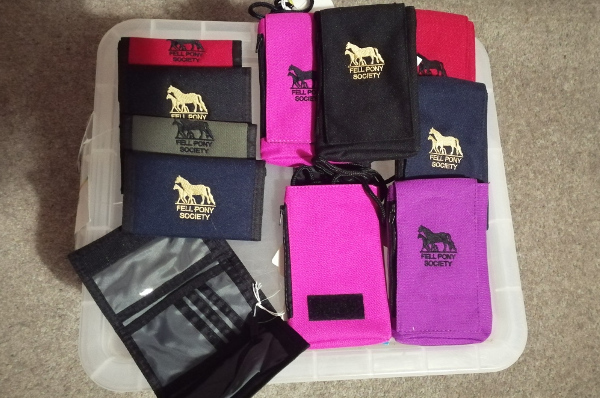 wallets and phone purses assorted colours