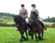 2002 Sizergh Ridden Pairs Classs winners.  [ Select to view a larger image. ]